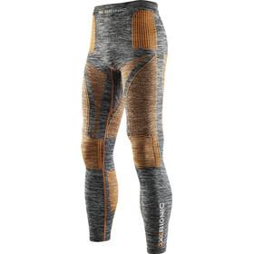 X-Bionic Accumulator EVO Melange UW Long Pants Men Grey Melange/Orange
